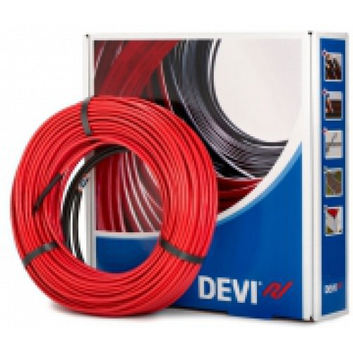Нагревательный кабель Devi (Деви) - Deviflex DTIP-18T , 125Вт, длина-7м., (до 0,9м²)