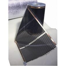 Инфракрасный плёночный теплый пол Q-Term 100 - 150 Вт/м2 (ширина полосы 1000 мм.)